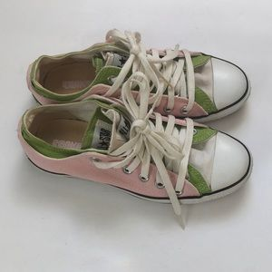 Converse All-Star Pink Green Double Sneaker